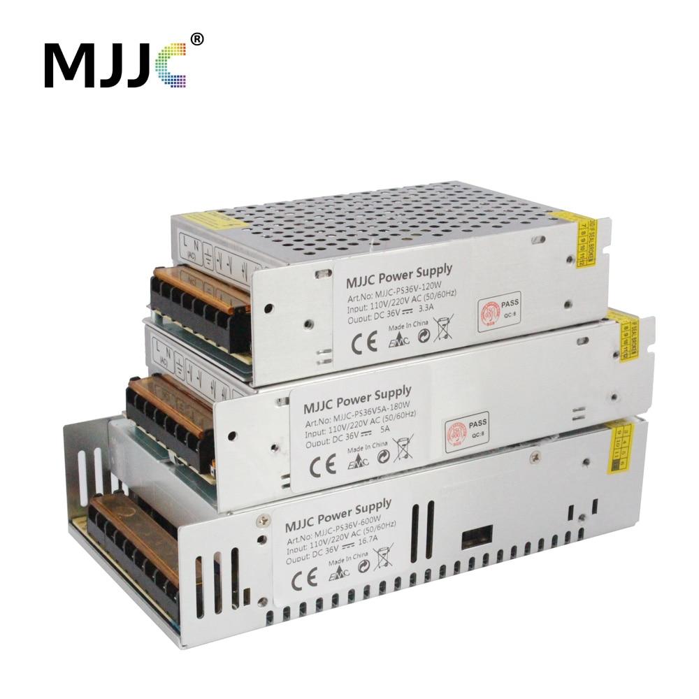AC DC 36V Power Supply 36 Volt 110V 220V to 36V 10A 5A 120W 200W 480W 600W LED Driver DC 36V Lighting Transformer for LED Strip