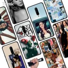 Lana Del Rey Black Soft Case for Oneplus 7 Pro 7 6T 6 Silicone TPU Phone Cases Cover Coque Shell
