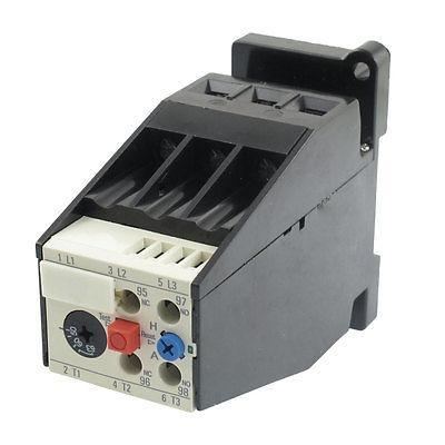 AC 50A - 63A Motor Protection Thermal Overload Relay 1 NO 1 NC 2 pin thermal overload protection