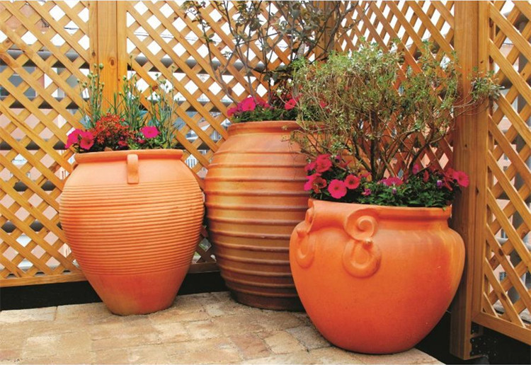 Pottery Factory Outlets Landscaping Landscape Works Planting