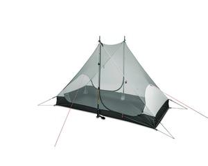 Image 4 - 3F UL GEAR LanShan 2 2 인 야외 초경량 캠핑 텐트 3 시즌 프로페셔널 15D 실리콘로드 레스 텐트 4 시즌