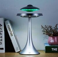 Магнитная подвеска НЛО Стиль Семь цветов светодиодный свет интеллектуальная bluetooth колонка бас водонепроницаемый denoise беспроводной зарядки