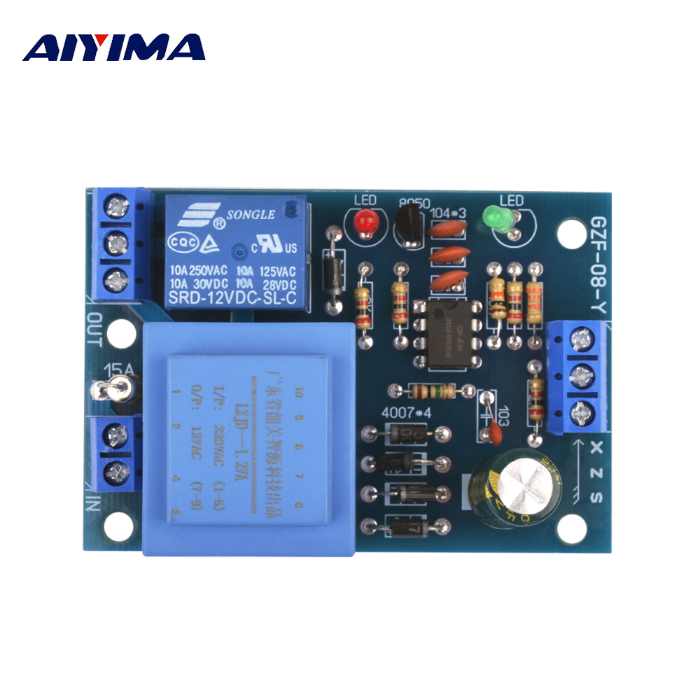 AIYIMA 220V Liquid Level Controller Module Water Level Detection Sensor