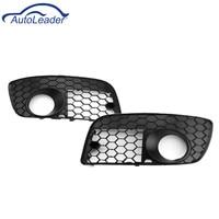1 Pair Car Honeycomb Grilles Hex Mesh Fog Light Open Vent Grilles For VW for Jetta MK5 GTI GLI
