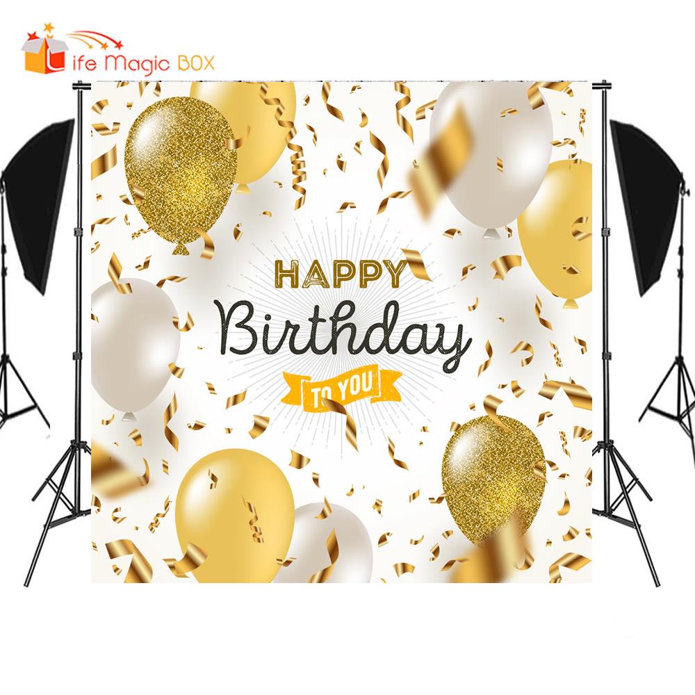 LIFE MAGIC BOX Princess Backdrop Happy Birthday Background