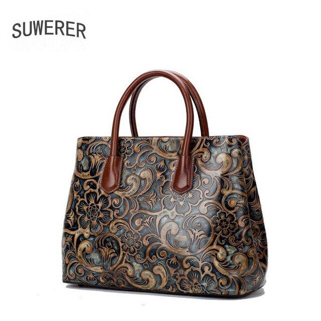 Genuína mulheres De Couro sacos para as mulheres Da Moda Em Relevo sacos de bolsas de luxo mulheres sacos de designer bolsas femininas de marcas famosas