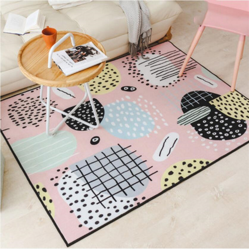 Tapis de conception créative de Style japonais et coréen pour les tapis de chambre à coucher de salon