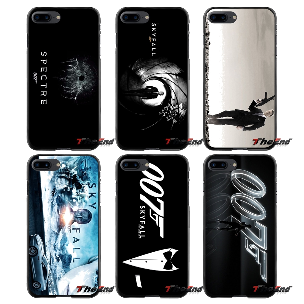 For Apple iPhone 4 4S 5 5S 5C SE 6 6S 7 8 Plus X iPod Touch 4 5 6 007 Movies Poster Accessories Phone Shell Covers