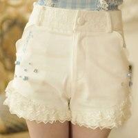 Princess Sweet Lolita Shorts Candy Rain Summer Sweet Temperament Japanese Style Lace Bow High Waist Shorts