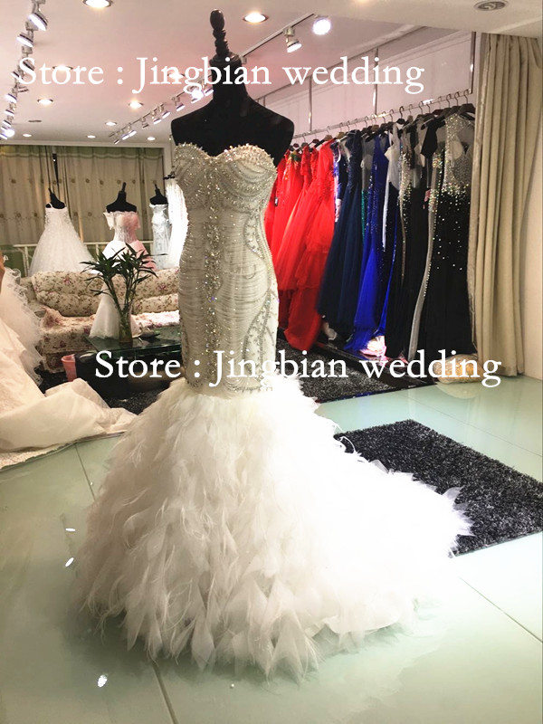Popular Bling Corset Mermaid Wedding Dresses-Buy Cheap Bling ...