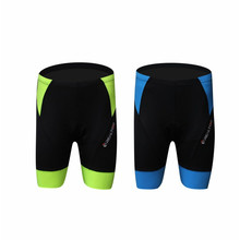 New 2 Colors Men's Outdoor Sports Cycling Shorts Underwear 3D Gel Pad Cycling Tight Fitness Sports Bicycle Bike Shorts REALTOO20