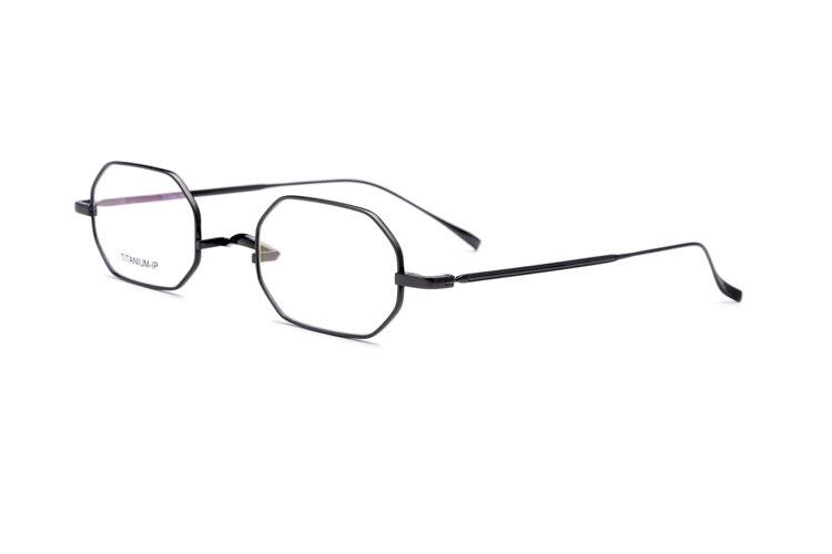 Not Allergic 100 Pure Titanium Glasses Frame Women Spectacles Optical Frames Men Square Prescription Myopia Eyeglasses