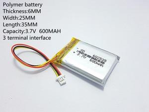 Image 4 - 폴리머 리튬 배터리 582535 3.7 v, 602535 062535 도매 ce fcc rohs msds 품질 인증을 사용자 정의 할 수 있습니다