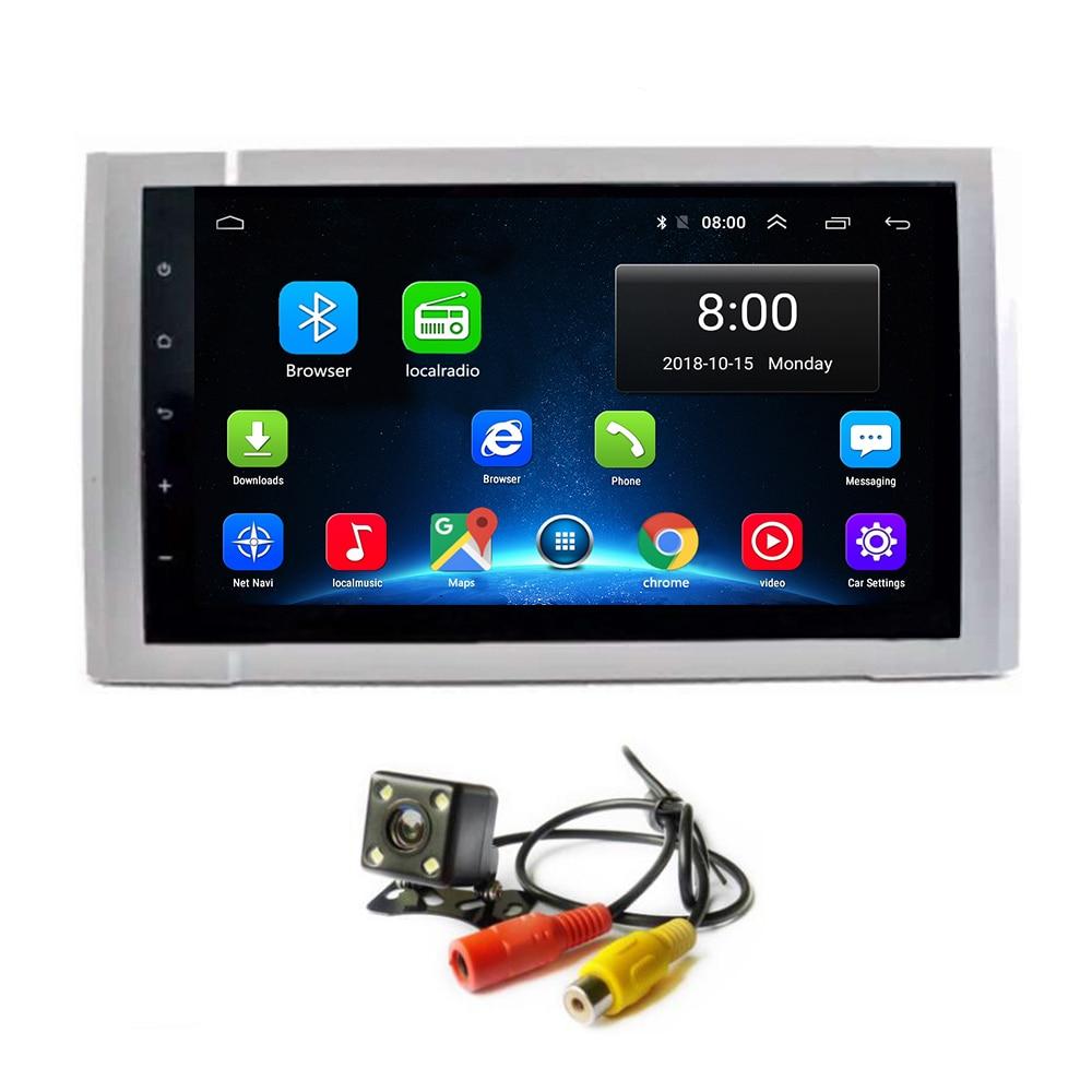 Android 8.1 Navigation de voiture pour Toyota Tundra 2014-2016 GPS HD écran tactile lecteur stéréo multimédia Audio vidéo Radio Navi
