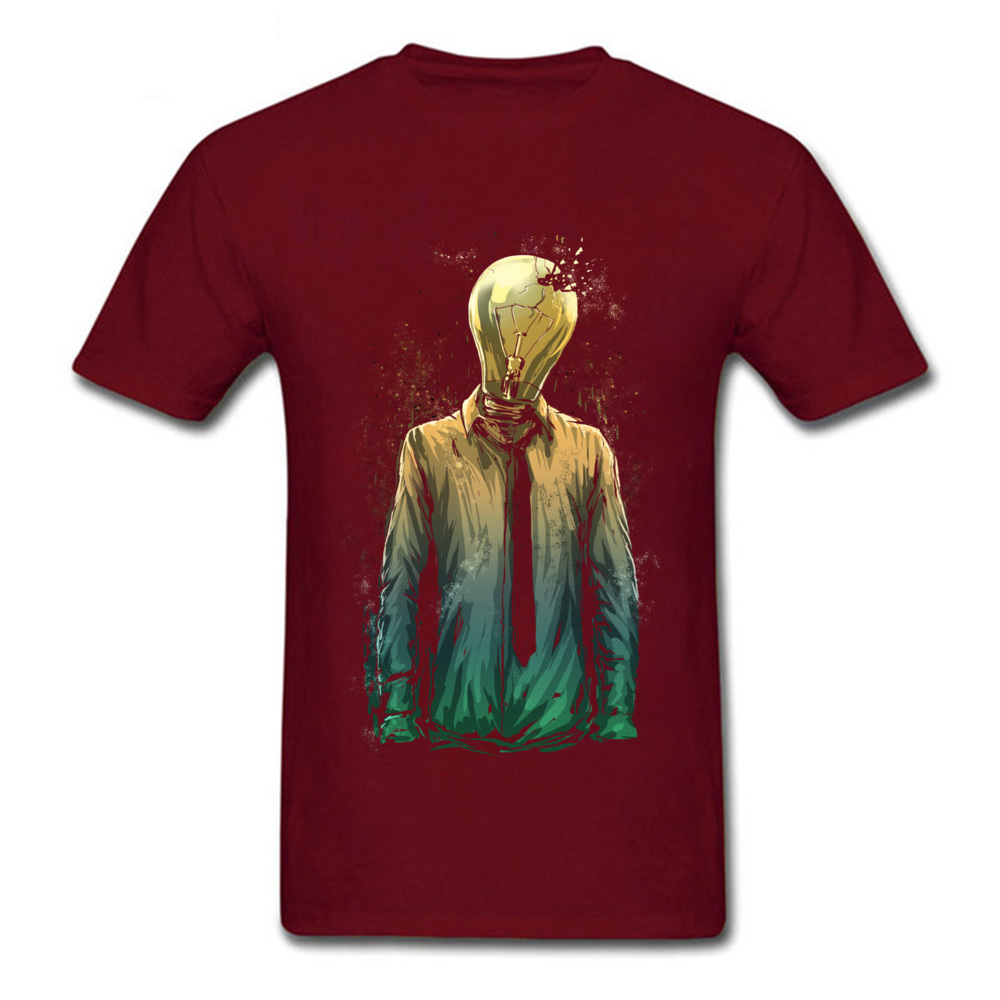 No More ideas 2018 Hot Sale Casual Tops T Shirt O-Neck Summer Cotton Fabric Short Sleeve Tshirts for Men Family Tops Tees No More ideas maroon
