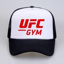 MMA mannen Baseball caps Ultimate Fighting Championship Ufc men hat Men  Women Print summer Mesh Trucker 4183afd6a2a5