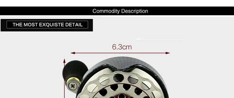 Jangada roda carretel de pesca esquerda direita