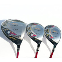 New womens Golf clubs Honma s-03 Golf wood set driver+fairway wood Graphite Golf shaft L flex wood clubs Freeshipping