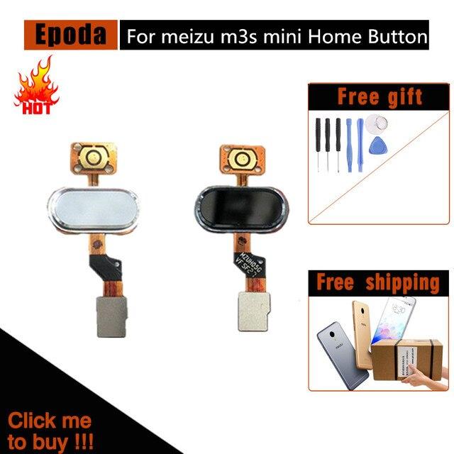 Meizu M3S Главная Кнопка Идентификация отпечатков пальцев Сенсор Flex ленточный кабель Запчасти для авто MEIZU M3S Кнопка Ключевые черный/белый/золотой