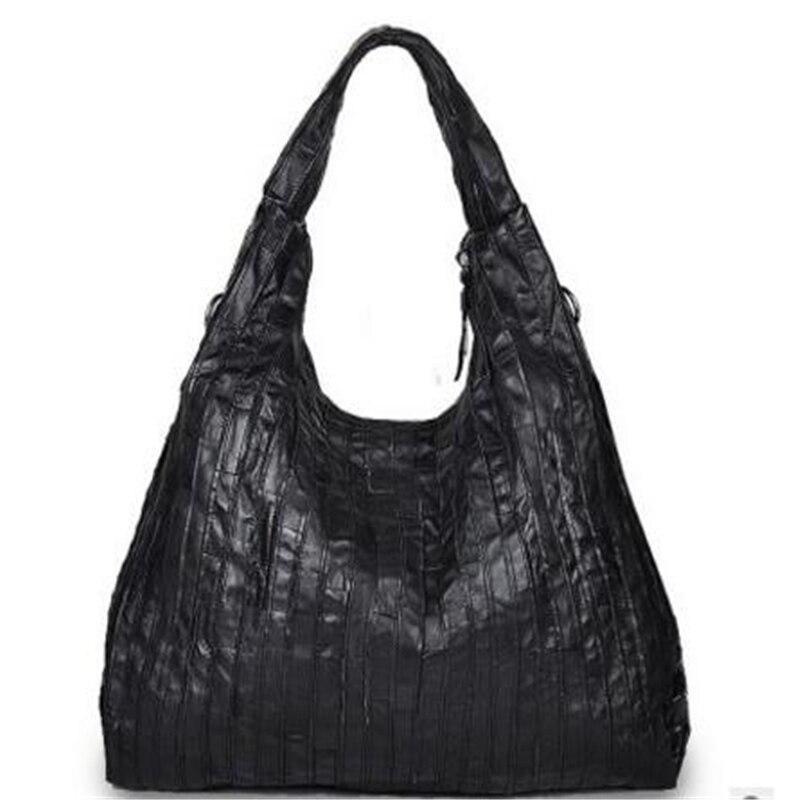 Hot Sale ! New Style Tide Sheepskin Genuine Leather Single Bags Fashion Casual Large Capacity Travel  Handbags memunia new arrive hot sale genuine