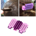 36pcs Hair Curling styling curlers clips salon Maker DIY tool hairpin purple