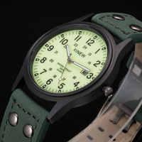 Marca de diseñador XINEW relojes luminosos de moda hombres Cool gran Dial Casual reloj de cuarzo con calendario reloj Masculino Marca 2018