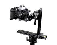 360 Degree Swivel Panoramic Head Macro Shot Focus Rail Slider Tripod Bracket For Canon Nikon Sony