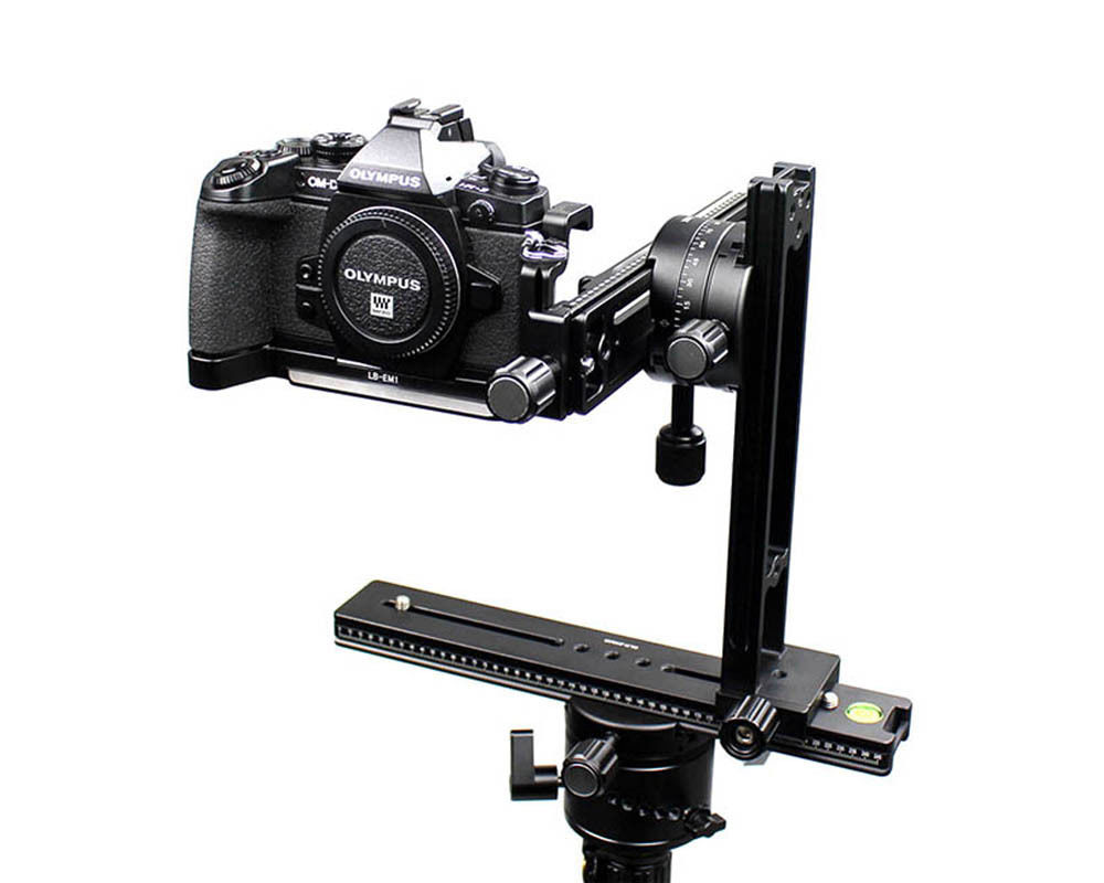 360 degree Swivel Panoramic head Macro Shot Focus Rail Slider Tripod Bracket for Canon Nikon Sony DSLR dv loricci шляпка