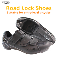 2018 NEW FLR Men's & Women's entry level bicycle shoes Road lock shoes breathable ultralight team sports shoes road bike shoes