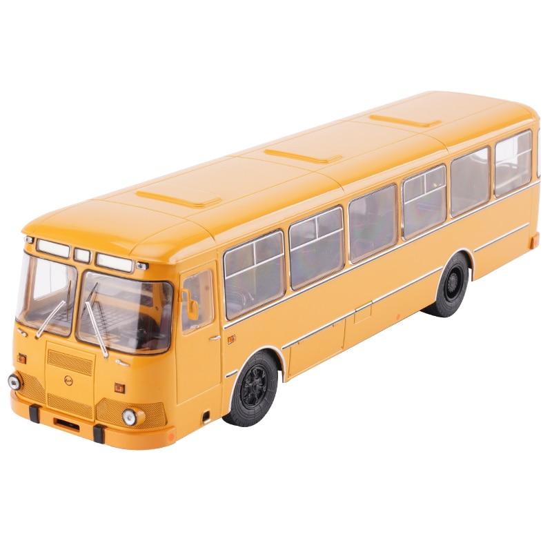 Sliding-Toy Gift-Box Packaging Simulation Bus SSM Metal Children's 1:43-Alloy LIAZ 677M