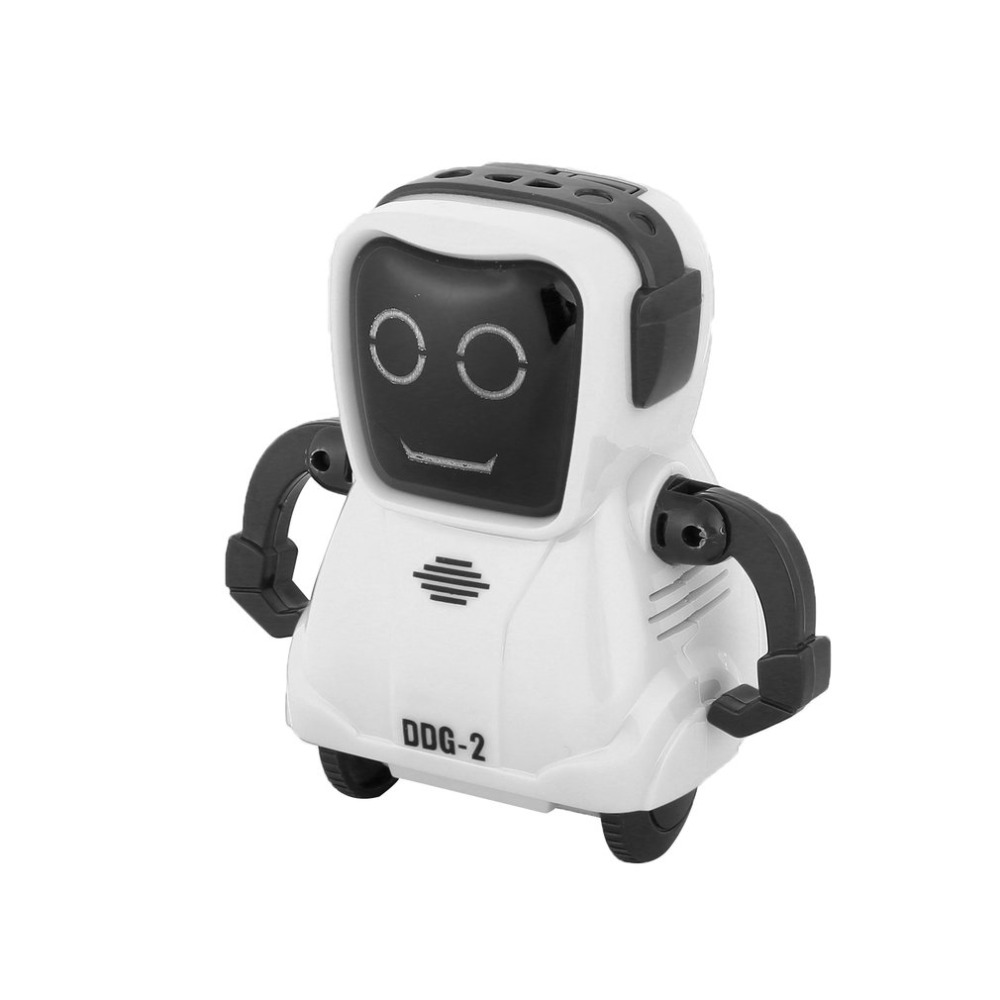 DDG-3 DDG-2  Intelligent Smart Mini Pocket Voice Recording RC Robot Recorder Freely Wheeling 360 Rotation Arm Toys for Kids Gift 16
