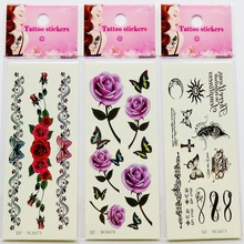 2 Sheets And Women Lovers Waterproof Small Fresh Letter Tattoo Pattern XF-WA Star Pattern Series 075-099