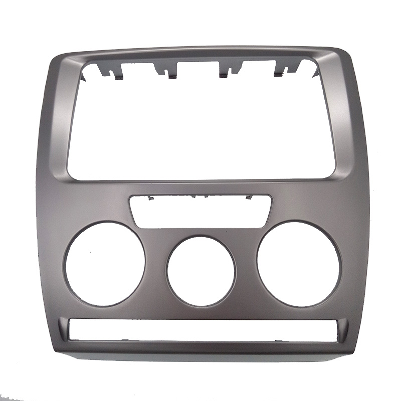 ityaguy 2 din car radio fascia for skoda octavia 2007 2009. Black Bedroom Furniture Sets. Home Design Ideas