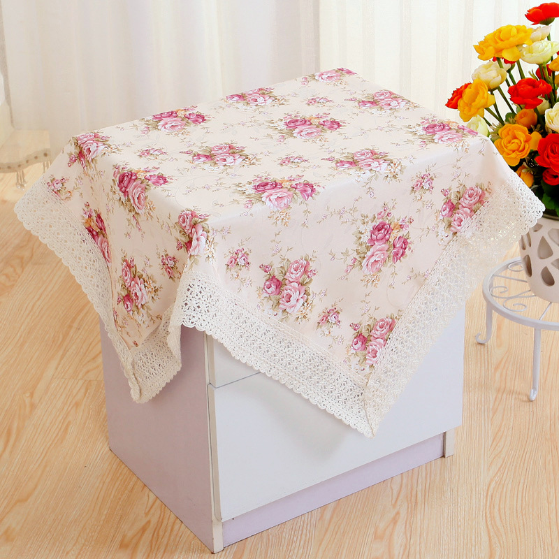Cotton Lace Table Cloth Floral Print Tablecloth Dining  : Cotton Lace Table Cloth Floral Print Tablecloth Dining Table Cover Kitchen Home Textile Home Decor U0803 from www.aliexpress.com size 800 x 800 jpeg 261kB