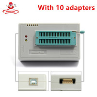 100 Original NEWEST V6 6 Minipro TL866A Usb Programmer 10 Items IC Adapters High Speed TL866