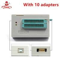 100 Original NEWEST V6 6 Minipro TL866A Usb Programmer 10 Items IC Adapters High Speed TL866