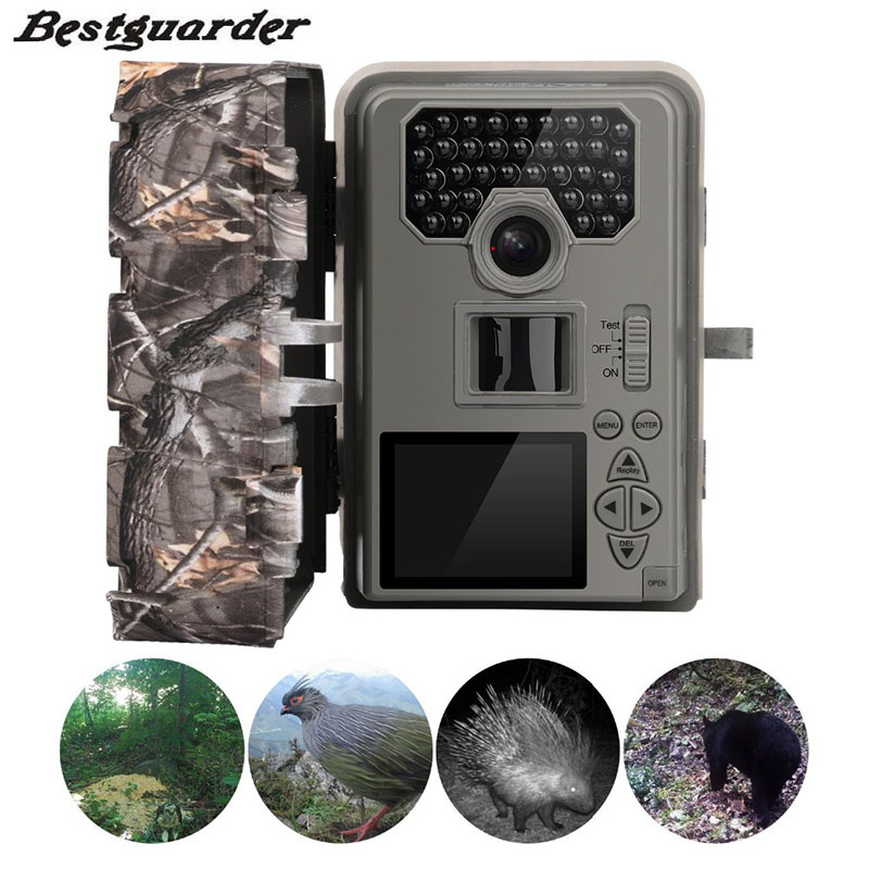 New 12mp Infrared Hunting Camera Night Vision 36 IR LEDs IR Scouting Trail Cameras trap  IP66 Waterproof 0.5-0.6S Trigger 2016 new qlm 940n 12mp 940nm night vision wildgame trial camera hunting cameras with 8gb sd card free shipping