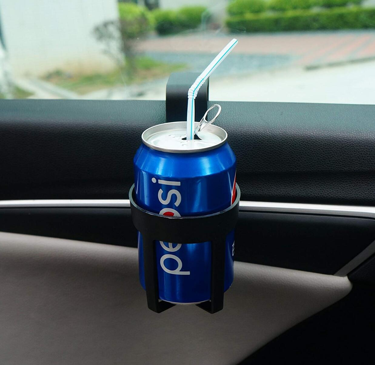 Image 2 - Car Drinks Cup Bottle Can Mount Holder Stand for peugeot 207 mazda fiat 500 opel insignia amg fiat citroen citroen c5 C3-in Car Tax Disc Holders from Automobiles & Motorcycles