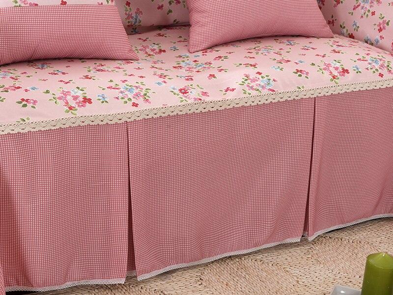 Divano Forma Rosa : Luce rosa fiori divano copertina singola doppia tre quattro sedile