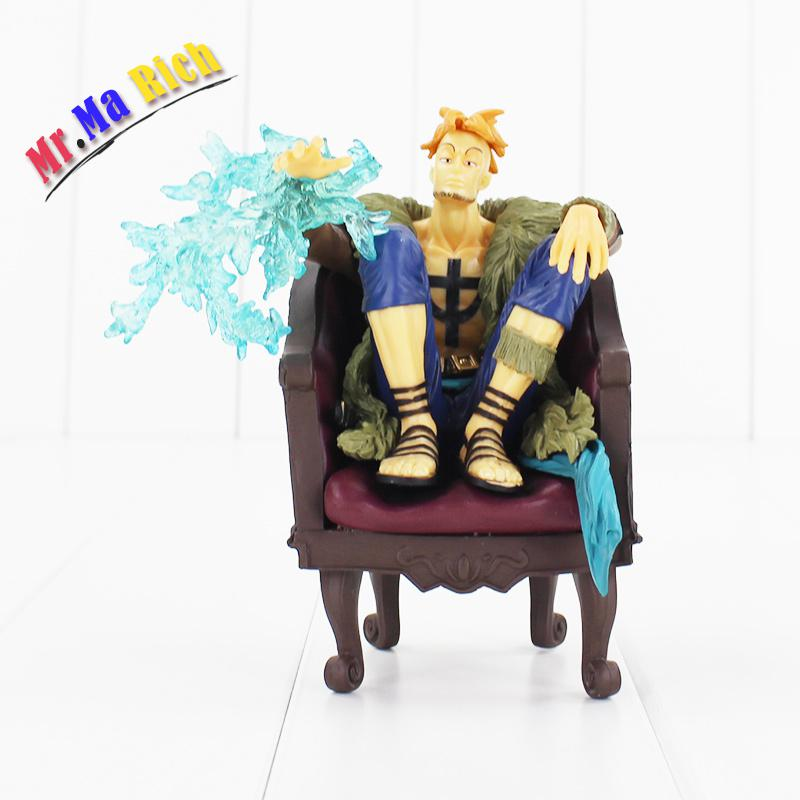 15cm One Piece Marco Extra Closet Re: Members Log Rob Rucchi Pvc Figure Collectible Model Toy