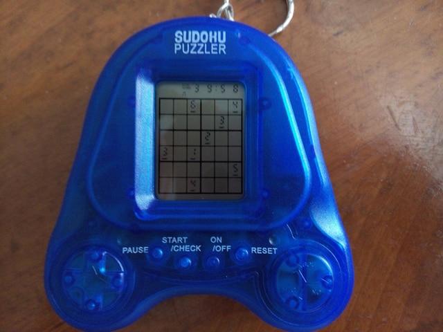 Cheap Educational Toys : Sudoku puzzel electric machine handheld game children math