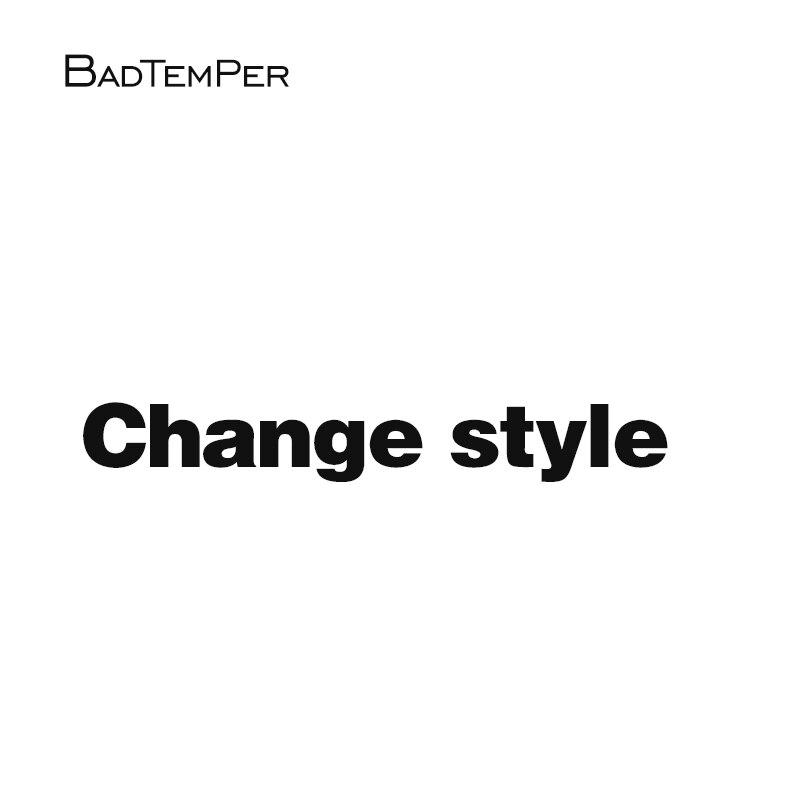 Badtemper 2018 moda gafas de sol hombres mujeres Dropship cambiar estilo