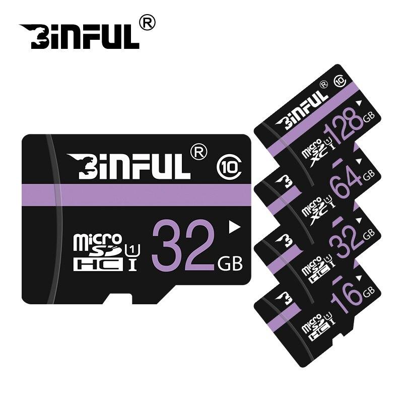 100 Original micro SD card 64GB 32GB 8GB 16GB HIGH Speed Memory card mini purple TF