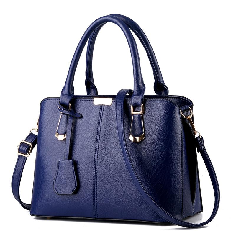 2016 Korean version OL bag  winter fashion casual handbag office lady bag Simple and atmospheric wrinkles pattern messenger bag