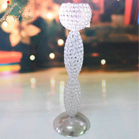 70cm tall fashion & luxury wedding centerpiece crystal candle holder event/party decoration 1 lot=6 pieces, free shipping