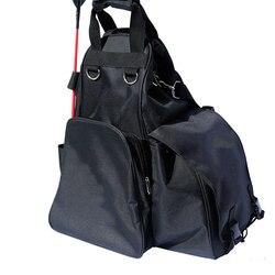 Bottes d'équitation équestre sac imperméable Oxford tissu casque stockage sac à dos professionnel cavalier porter équipement