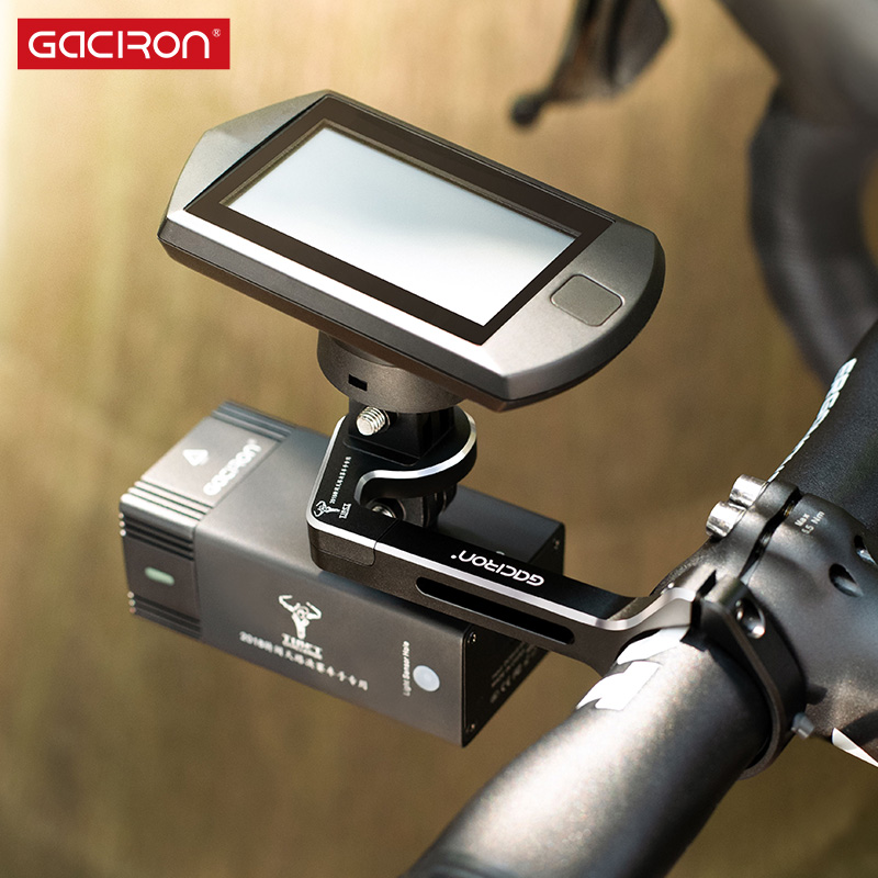 Gaciron Intelligent V7S series 500 800Lumen Mountain Bike Light Go Pro Mount Rechargeable IPX6 Bicycle Light