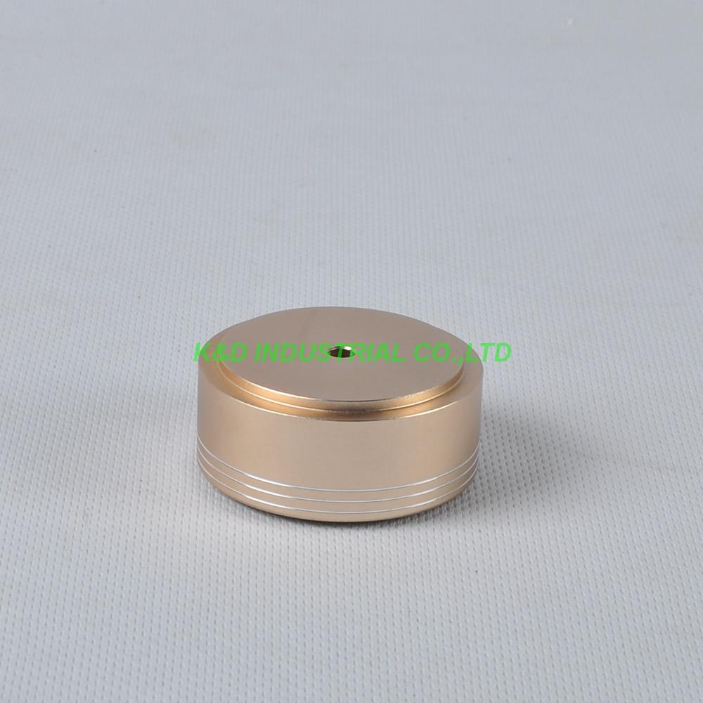 1 pc 49x22mm Ouro pés de Alumínio pad DIY Chassis Amplificador Valvulado de Fone De Ouvido de ALTA FIDELIDADE Falante CD