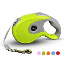3M 5M Automatic Retractable Dog Leash Extending Puppy Patrol Rope Tape Walking Leads Quick Release Running Leashes for Pet Cats
