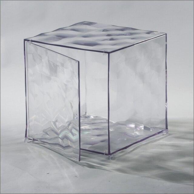 Personnalit de la mode italienne cube d 39 eau de rangement casiers avec portes en plastique table - Cube de rangement avec porte ...